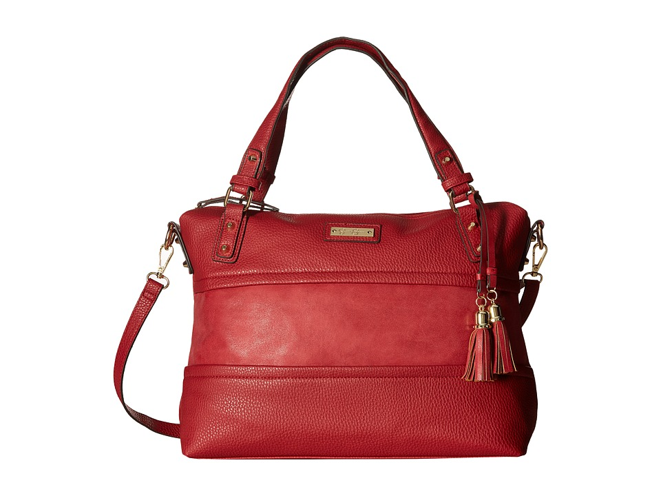Jessica Simpson - Vesey Satchel (Ruby) Satchel Handbags