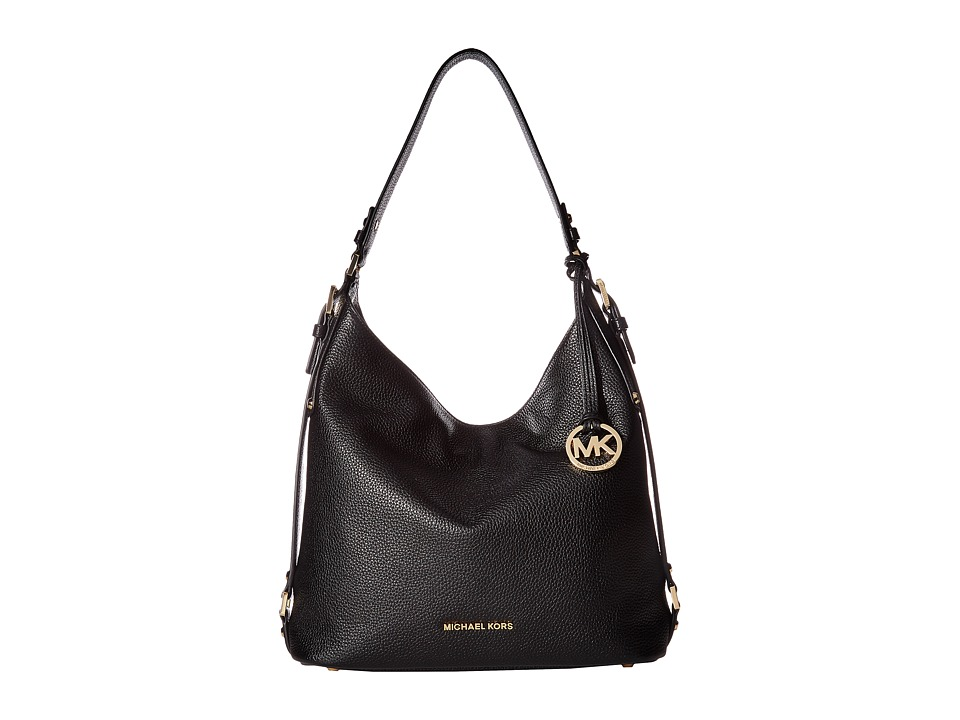 MICHAEL Michael Kors - Bedford Belted Shoulder (Black) Shoulder Handbags