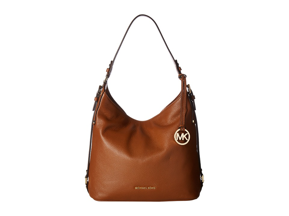 MICHAEL Michael Kors - Bedford Belted Shoulder (Luggage) Shoulder Handbags