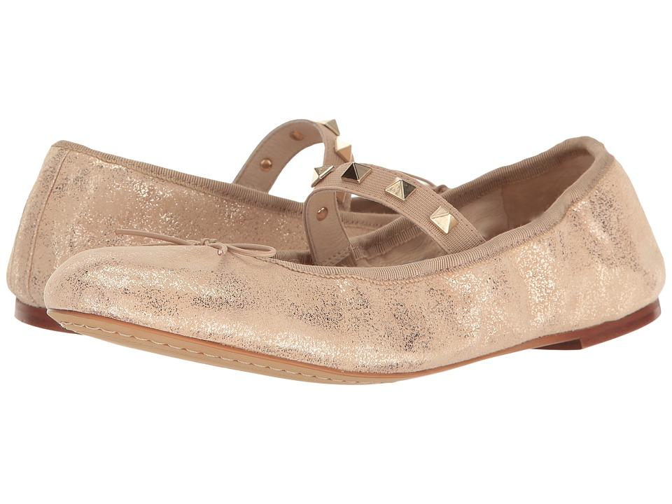 Vince Camuto - Prilla (Metal Beige Metal Dust Grosgrain) Women's Shoes