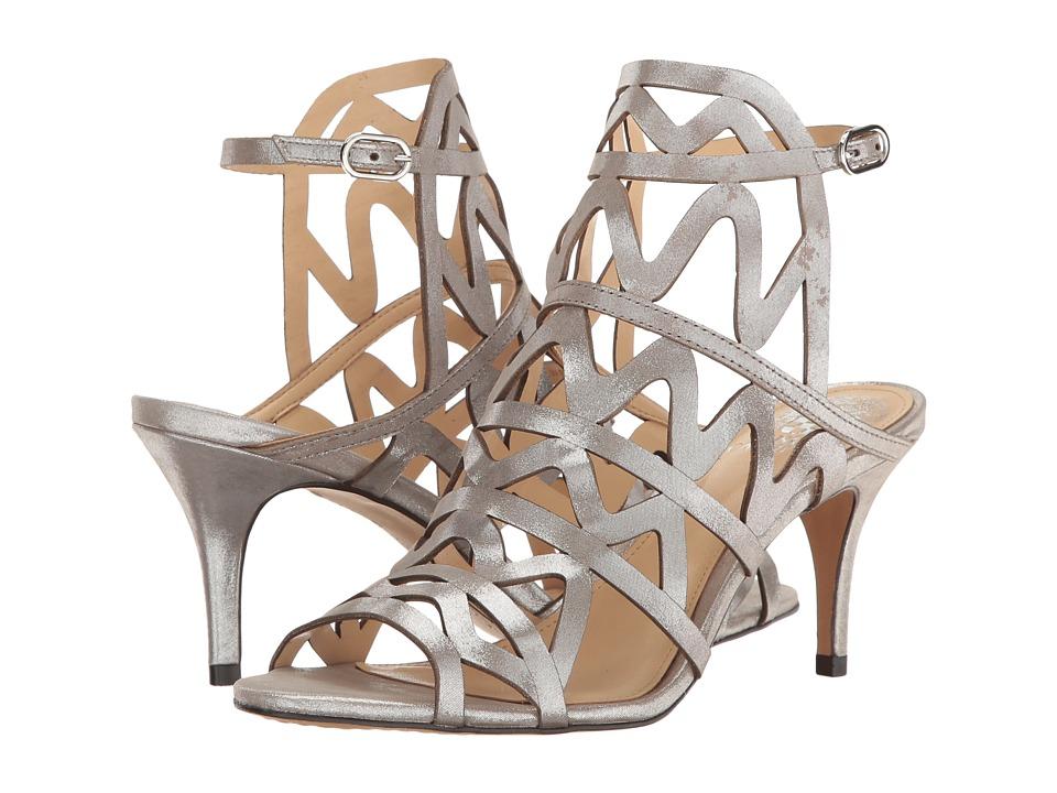 Vince Camuto - Prisintha (Pewter Dazzle Suede) Women's Shoes