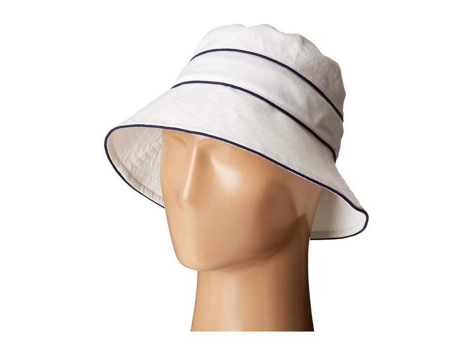 Betmar - Ava (White/Navy) Caps