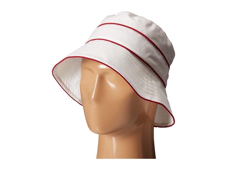 Betmar - Ava (White/Red) Caps