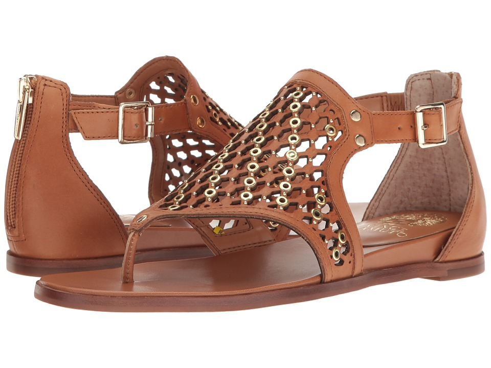 Vince Camuto - Sitara (Peanut Burnished Calf Soft Nappa) Women's Shoes