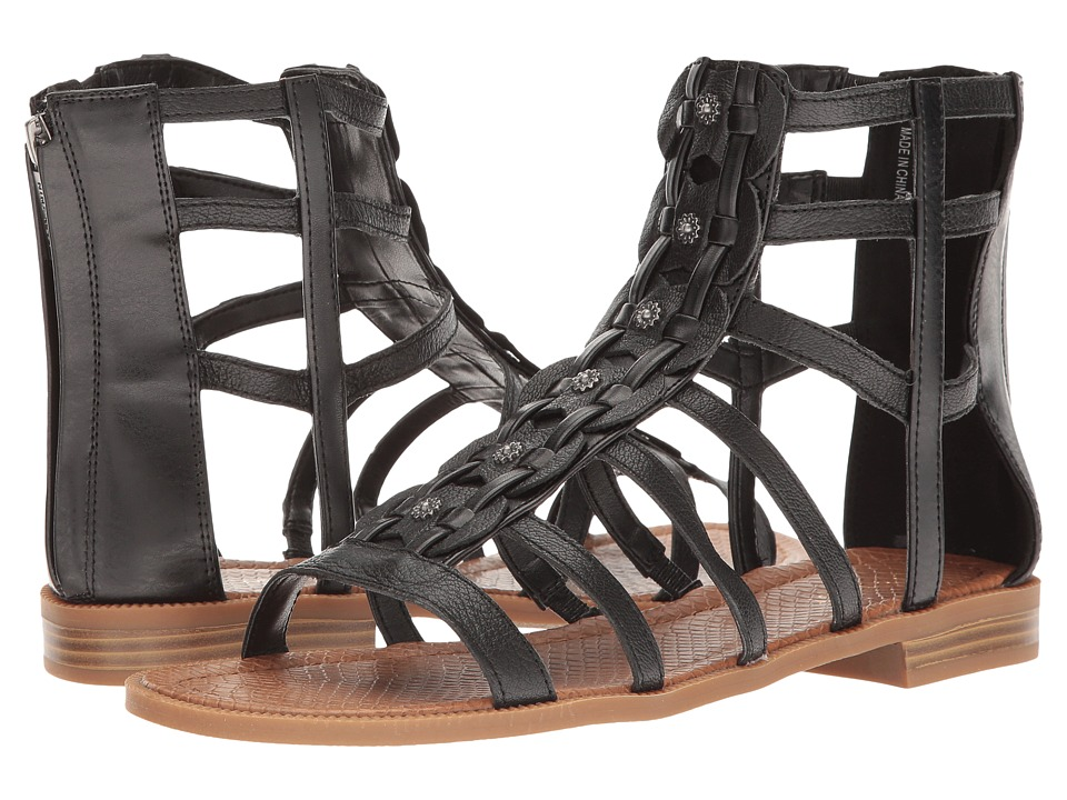Nine West - Xeron (Black Leather) Women's Sandals