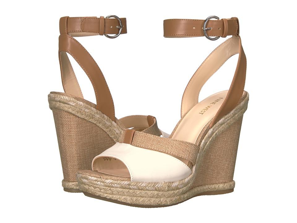 Nine West - Fender (Milk/Dark Caramel/Natural/Dark Caramel) Women's Shoes