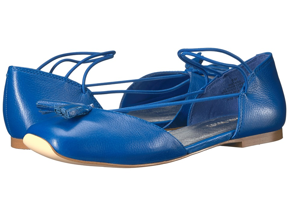 Nine West Zaina (Blue Leather) Women