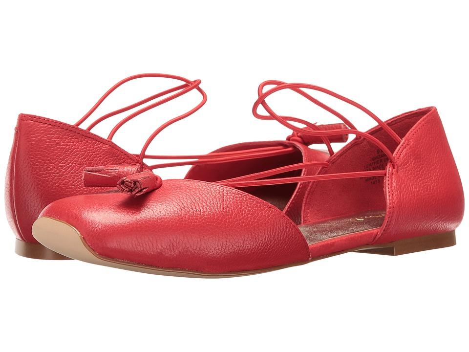 Nine West Zaina (Red Leather) Women