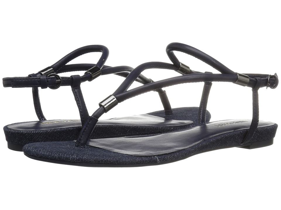 Nine West - Rivers 3 (Navy Synthetic) Women's Shoes