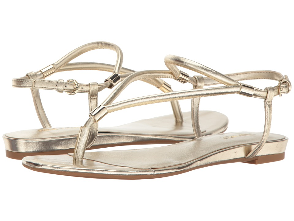 Nine West - Rivers 3 (Gold Synthetic) Women's Shoes