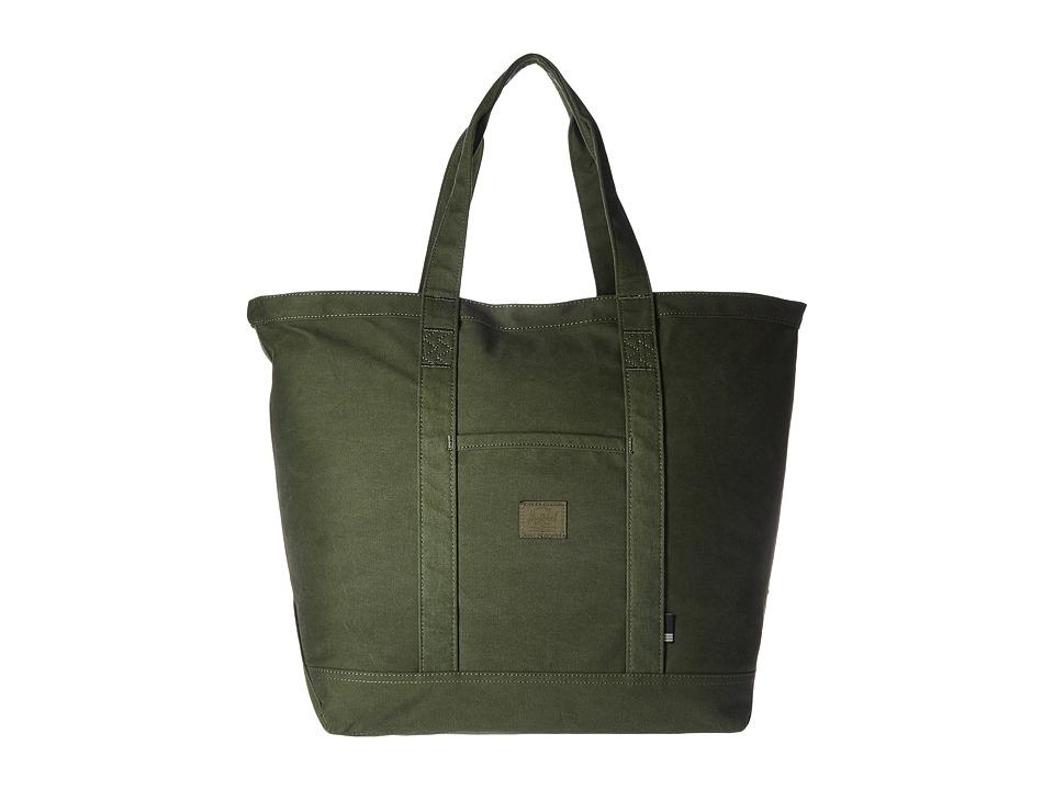 Herschel Supply Co. - Bamfield Mid-Volume (Forest Night) Tote Handbags
