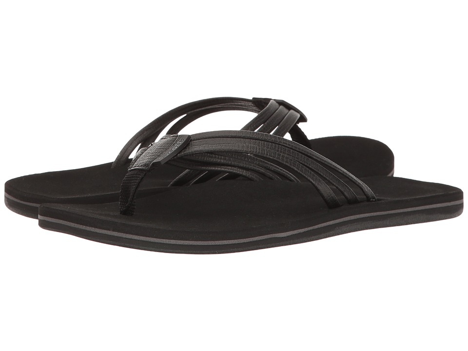 Scott Hawaii - Haiku (Black) Women's Sandals