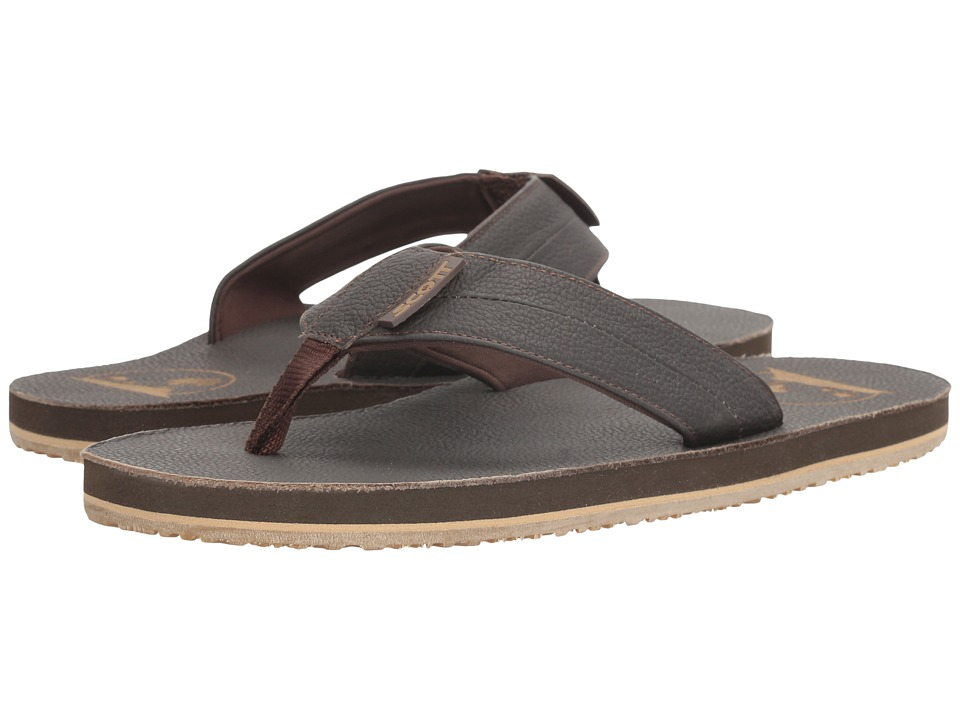 Scott Hawaii - Holo (Brown) Men's Sandals