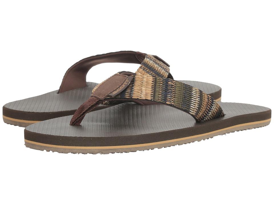 Scott Hawaii - Aina (Brown) Men's Sandals