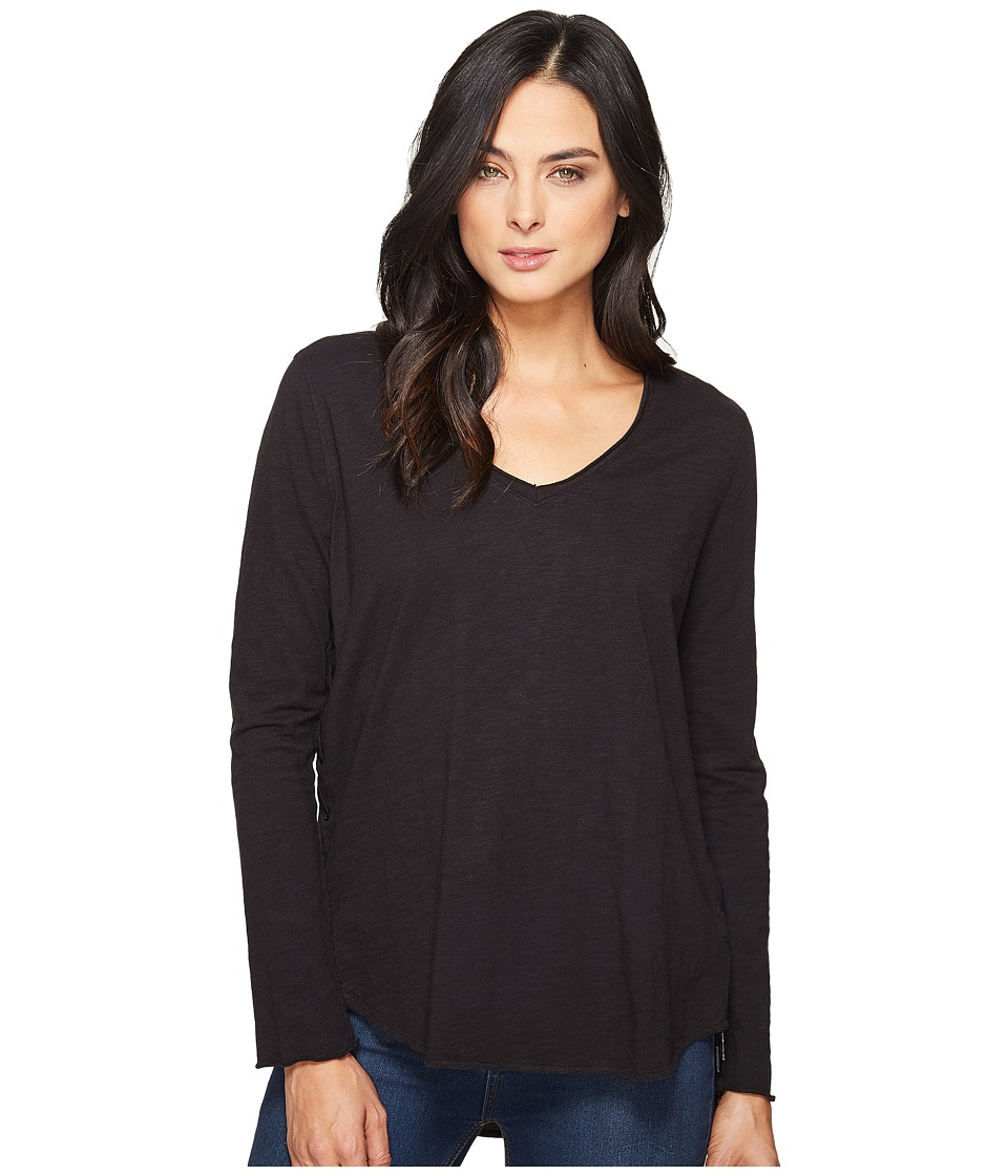 Blank NYC - Ties and Lows Shirts in Black (Black) Women's T Shirt