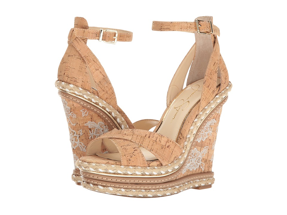 Jessica Simpson Ahnika (Natural Cork) Women