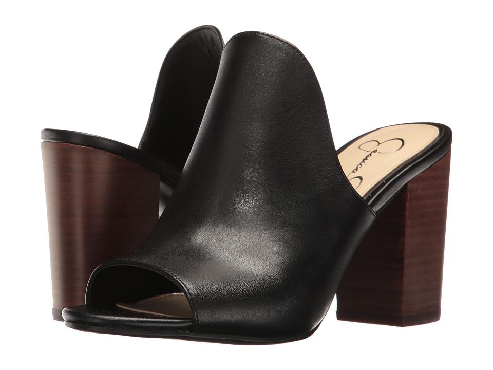 Jessica Simpson - Rainn (Black Soft Nappa Silk) Women's Shoes