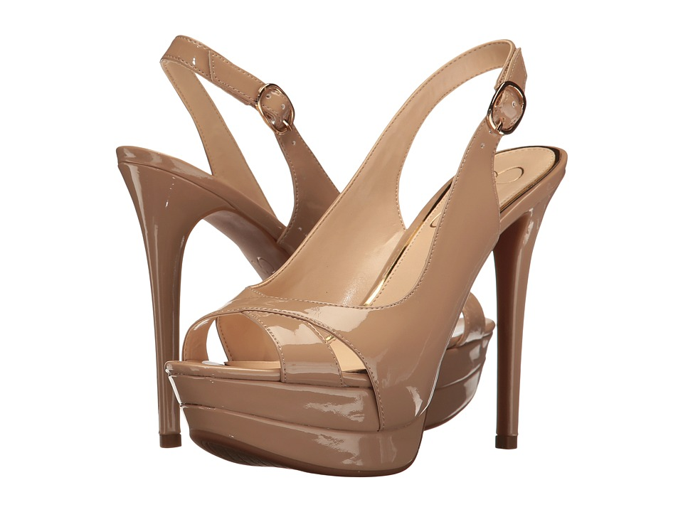 Jessica Simpson - Willey (Nude Patent) Women's Shoes