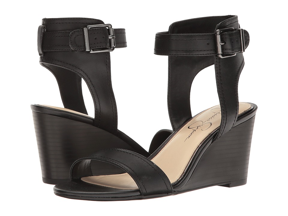 Jessica Simpson Cristabel (Black Soft Nappa Silk) Women