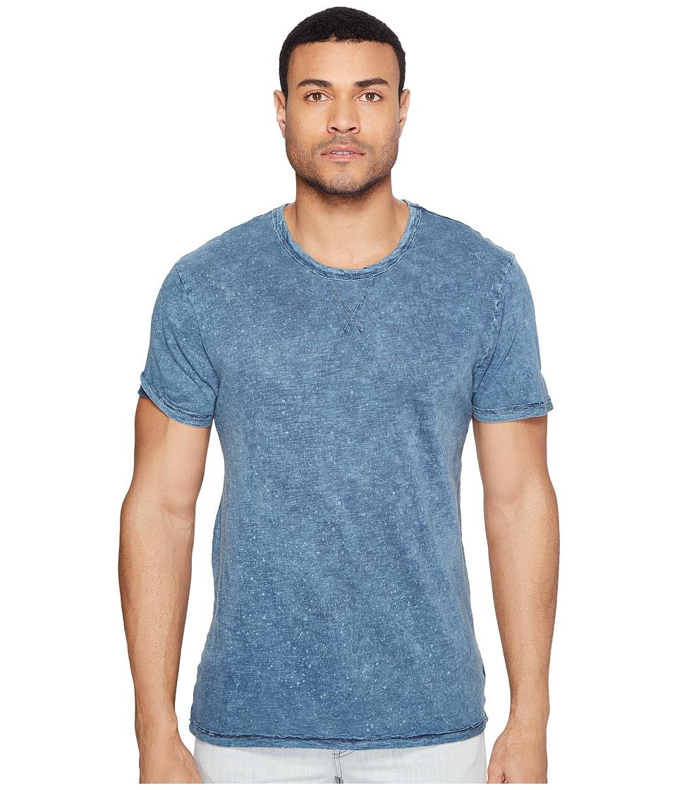 Alternative - Washed Slub w/ Seasalt Wash Eurostar Tee (Seasalt Mineral Blue) Men's T Shirt