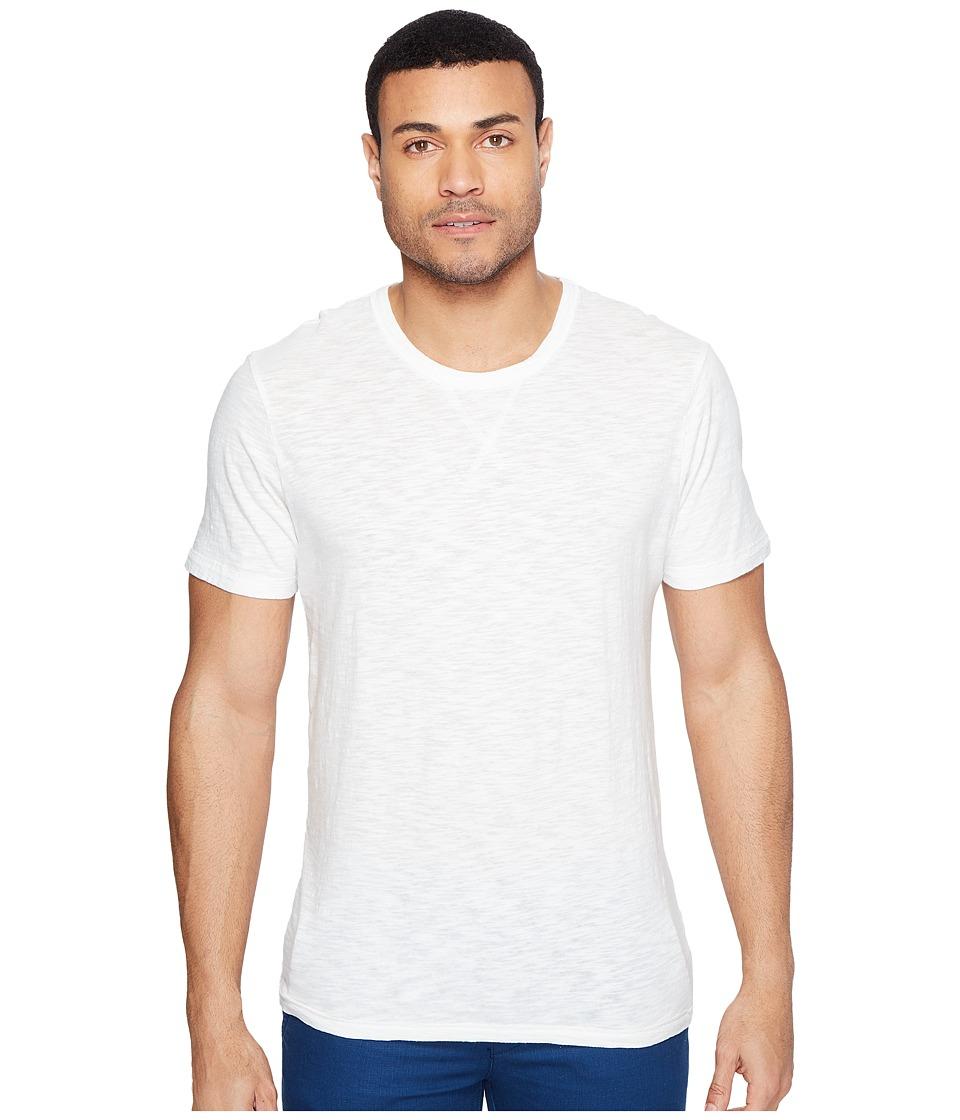 Alternative - Washed Slub w/ Seasalt Wash Eurostar Tee (Vintage White) Men's T Shirt