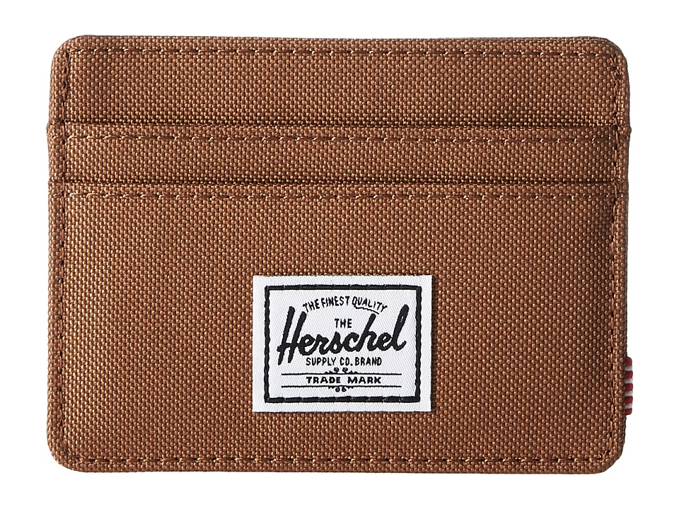 Herschel Supply Co. - Charlie RFID (Caramel) Wallet Handbags