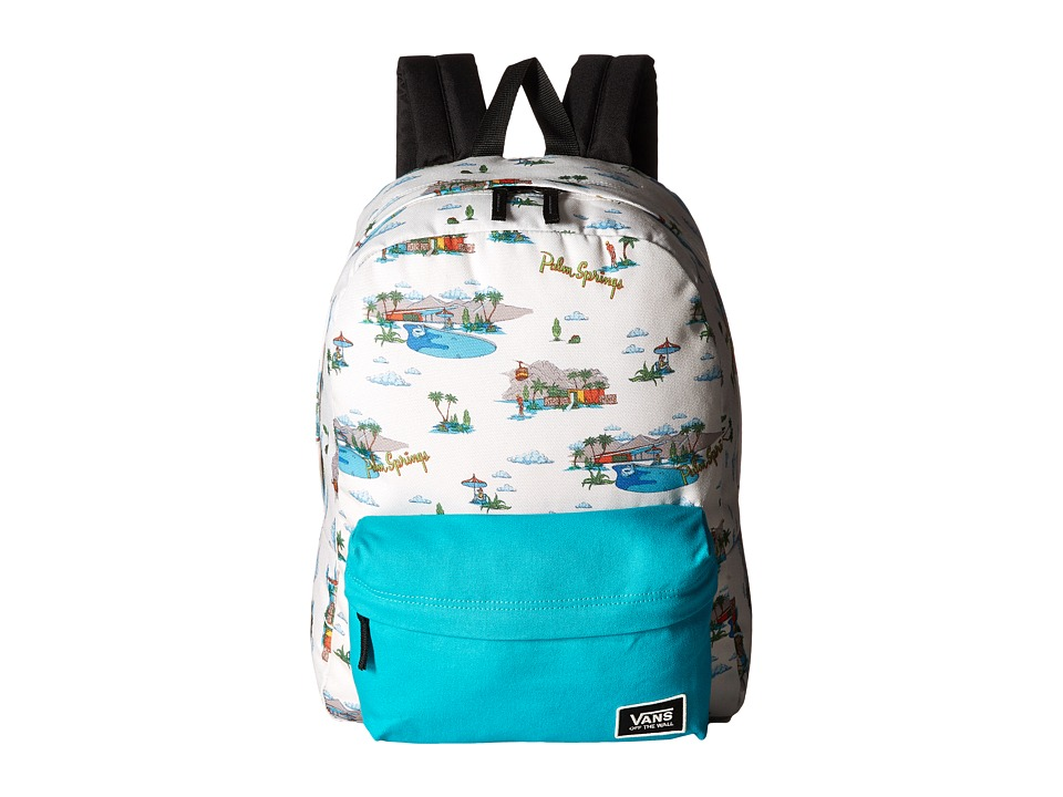 Vans - Realm Classic Backpack (Palm Springs) Backpack Bags