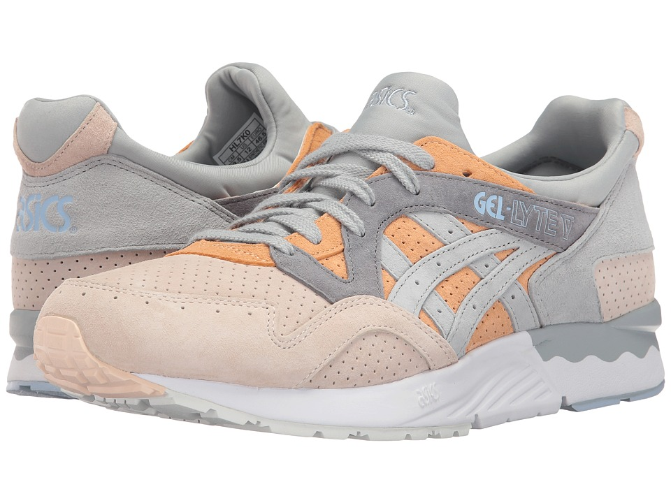 ASICS Tiger - Gel-Lyte(r) V (Apricot Nectar/Mid Grey) Men's Shoes
