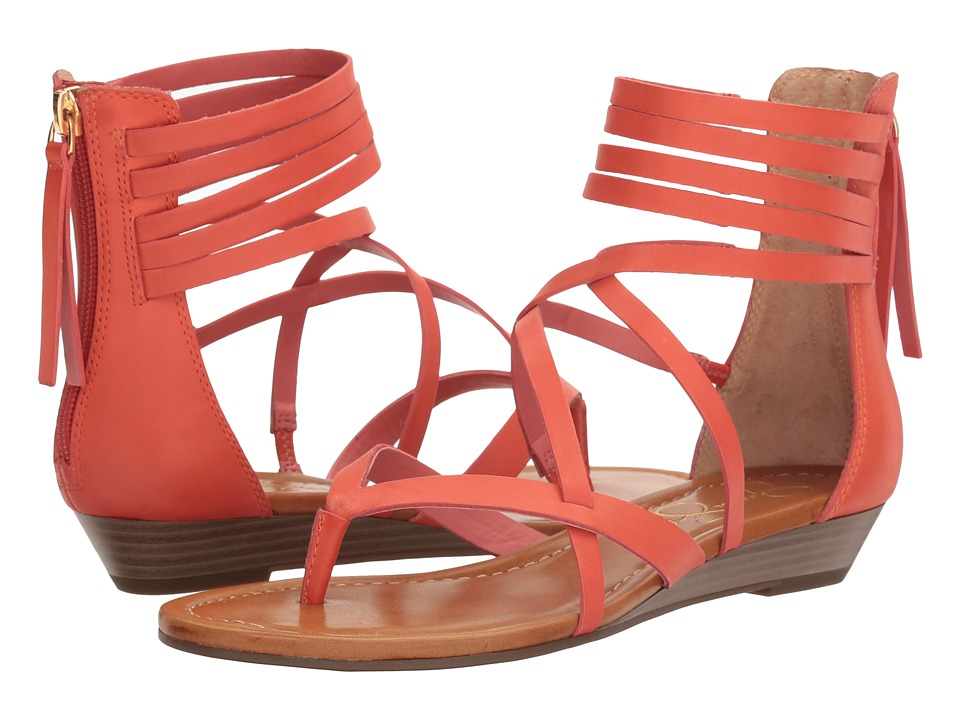 Jessica Simpson - Roselen (Fusion Coral Waxy Tendre) Women's Shoes