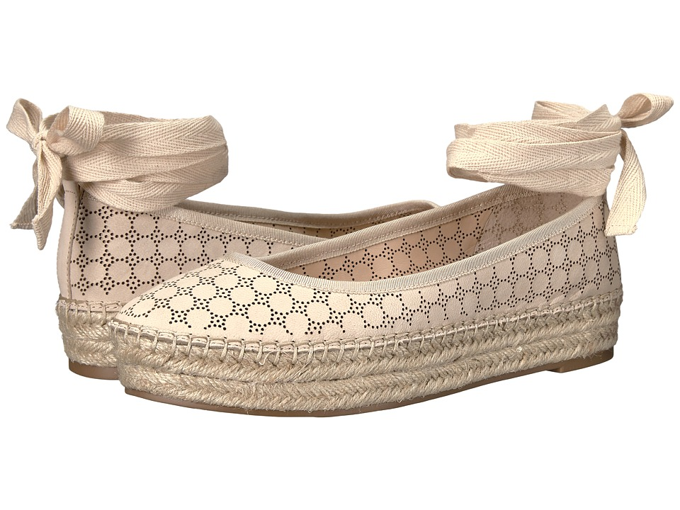 Jessica Simpson - Mikaela (Vanilla Crea Elko Nubuck Perforated) Women's Shoes