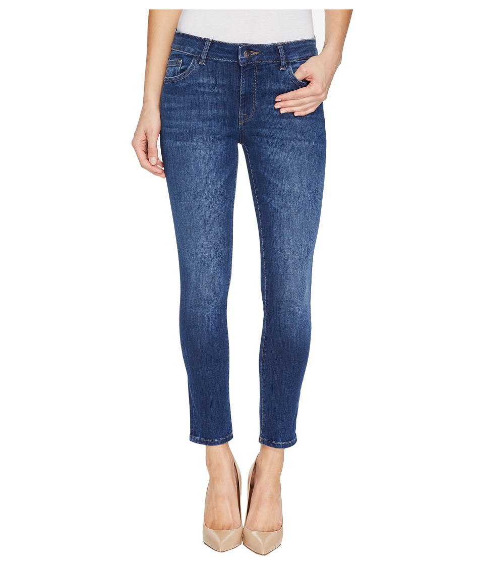 DL1961 - Florence Instasculpt Ankle Crop in Archer (Archer) Women's Jeans