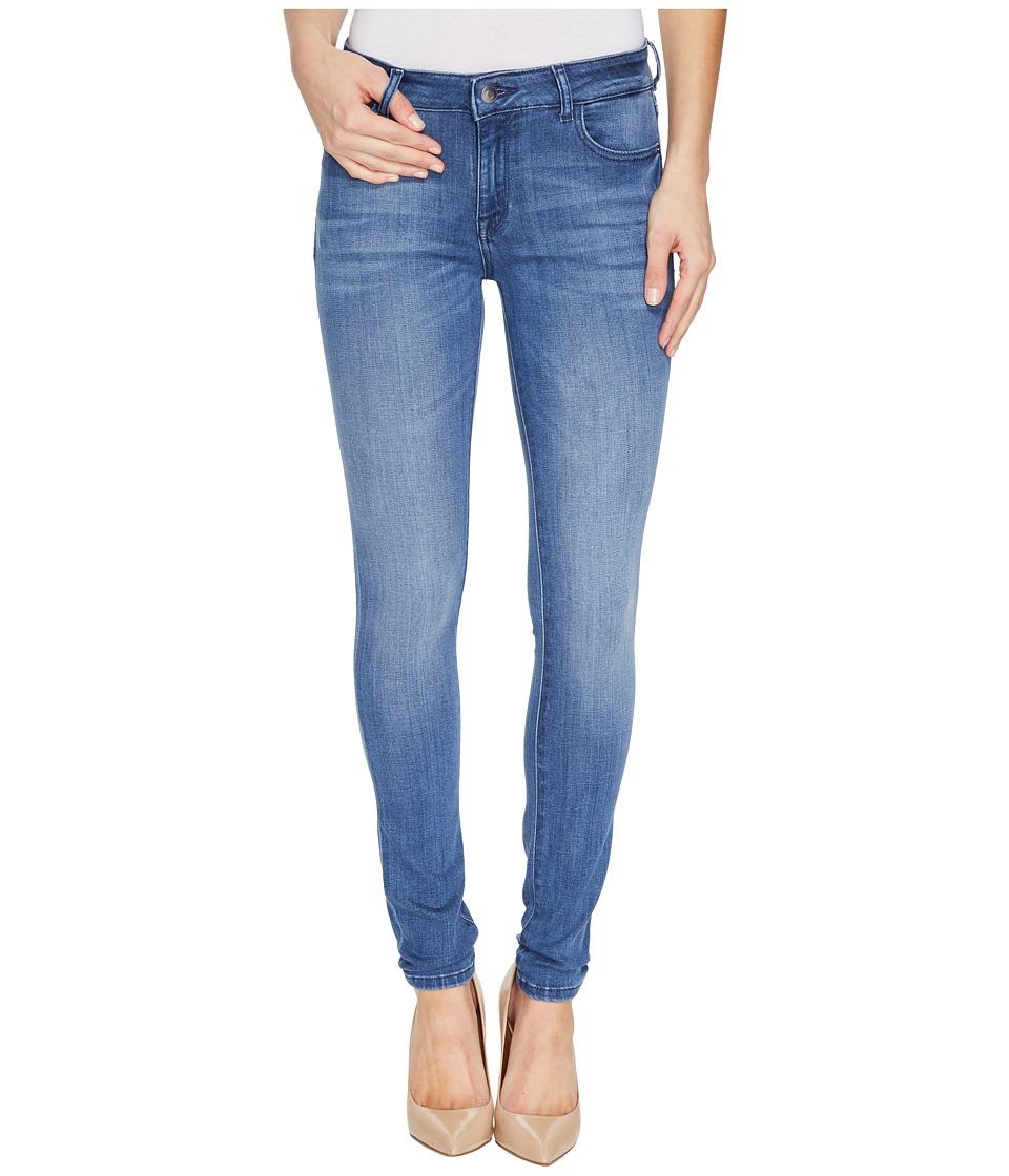 DL1961 - Florence Instasculpt Skinny in Godiva (Godiva) Women's Jeans