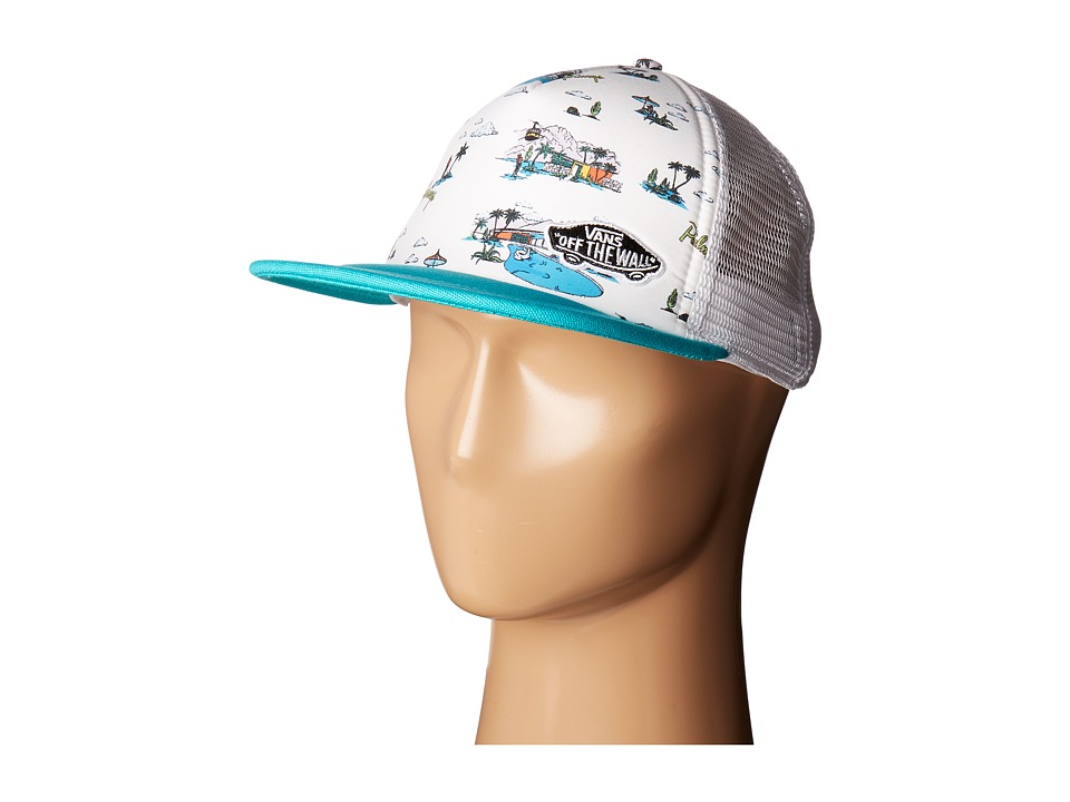 Vans - Beach Bound Trucker (Palm Springs) Caps