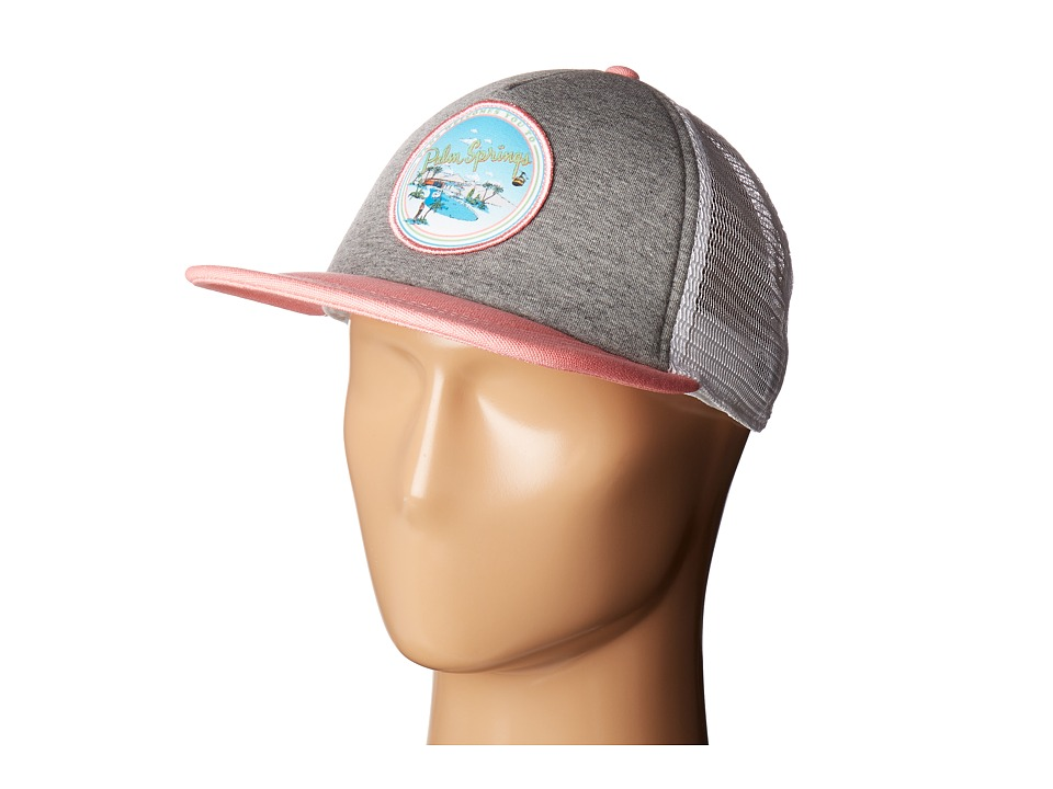 Vans - Lawn Party Trucker (Grey Heather) Baseball Caps