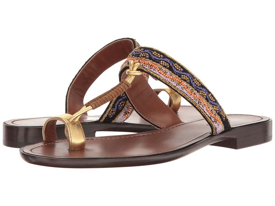 Etro - Toe Ring Sandal (Brown) Women's Sandals