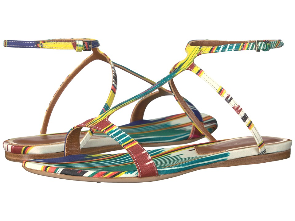 Etro - Ikat Flat Sandal (Multi) Women's Sandals