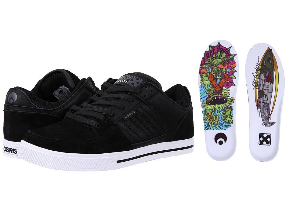 Osiris - Protocol (H-Street) (Black/H-Street/Art Godoy) Men's Shoes