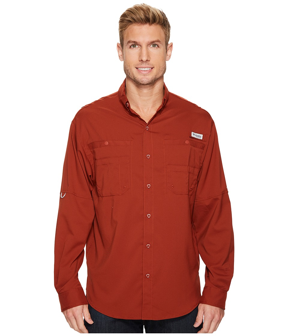 Columbia - Tamiamitm II L/S (Rusty) Men's Long Sleeve Button Up