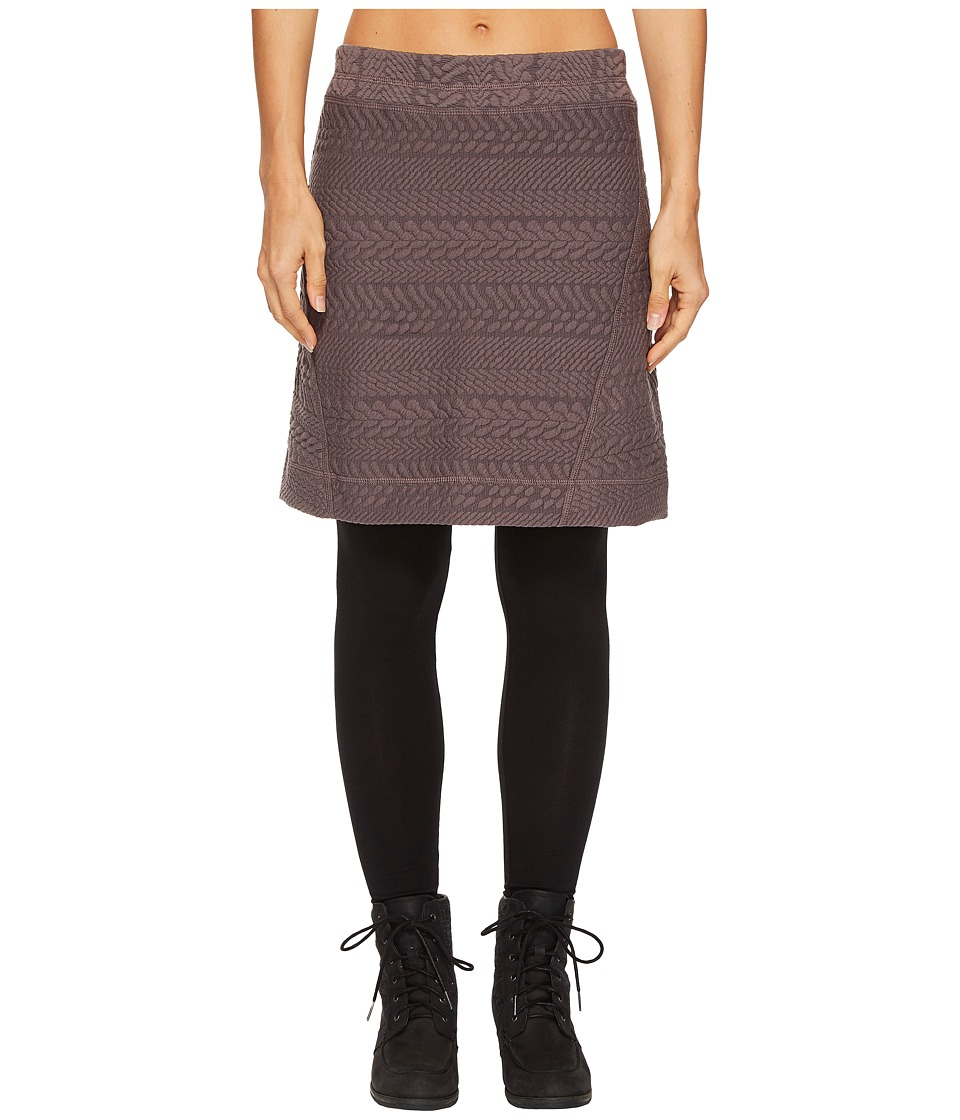 Prana Macee Skirt (Muted Truffle) Women