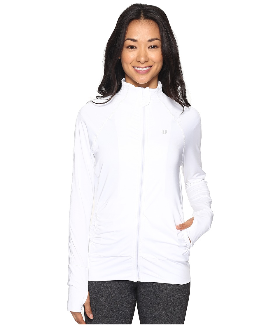 Eleven by Venus Williams - Core Elite Jacket (White) Women's Coat