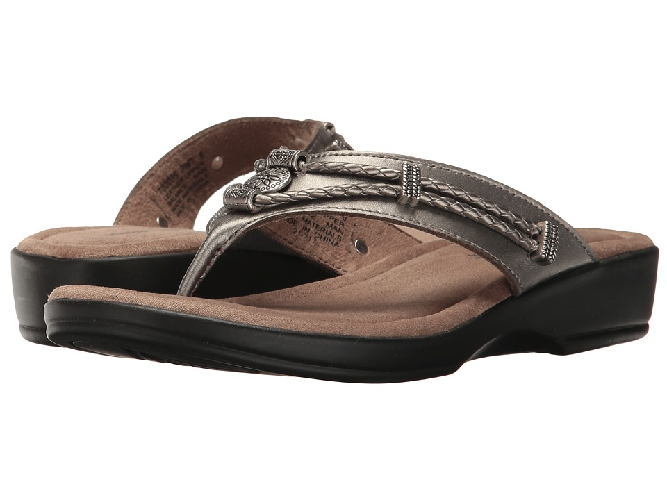 Minnetonka Scandia (Pewter Leather) Women