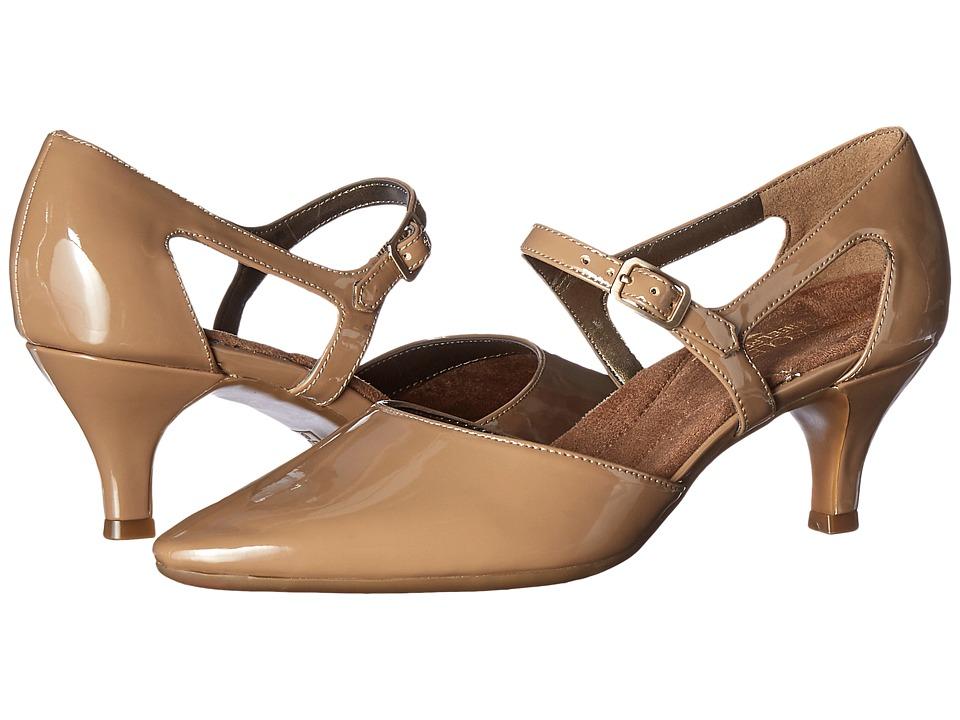 Aerosoles - Ardent (Nude Patent) Women's 1-2 inch heel Shoes