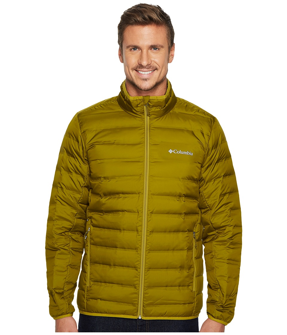 Columbia Lake 22 Down Jacket (Mossy Green/Peppercorn) Men