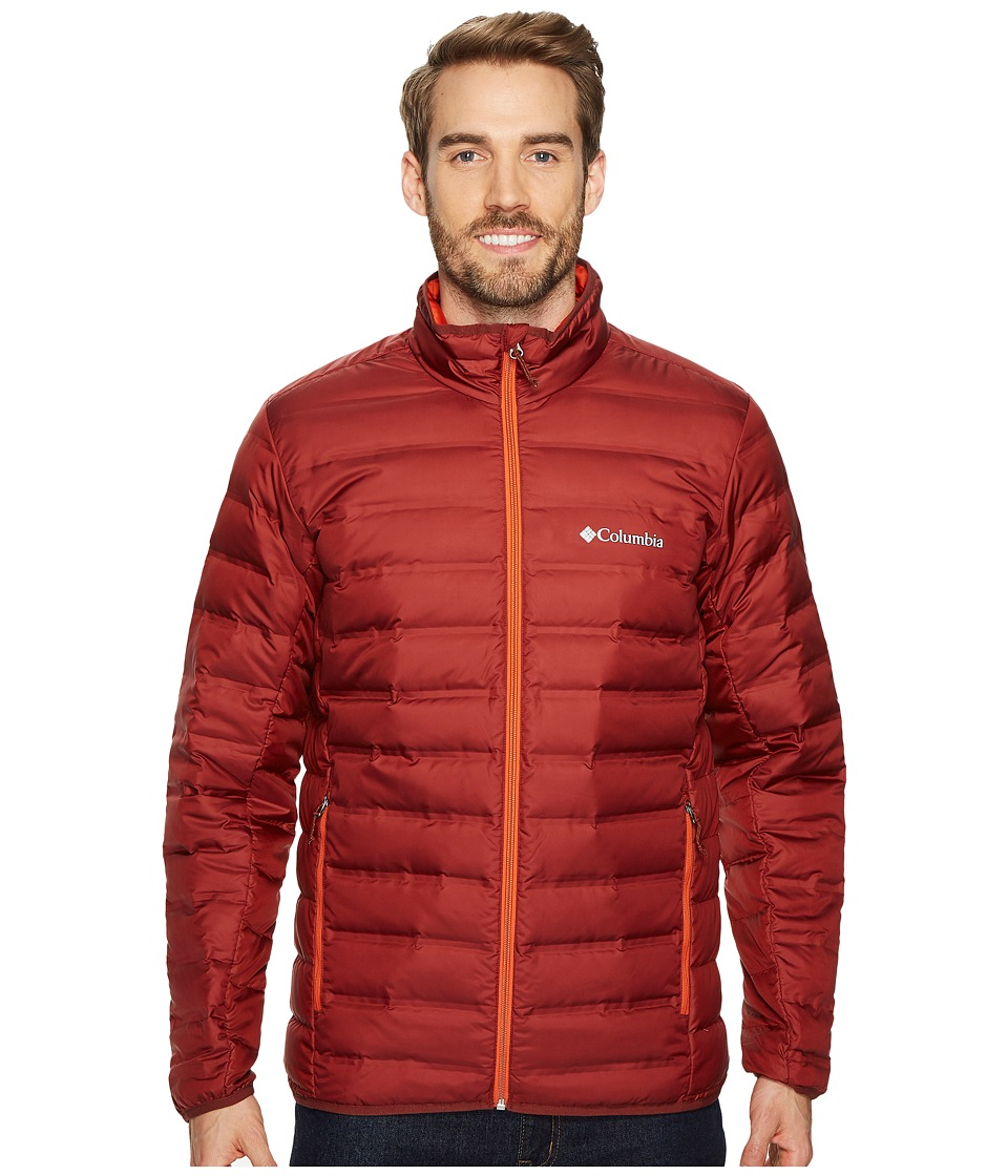 Columbia Lake 22 Down Jacket (Deep Rust/Hot Pepper) Men