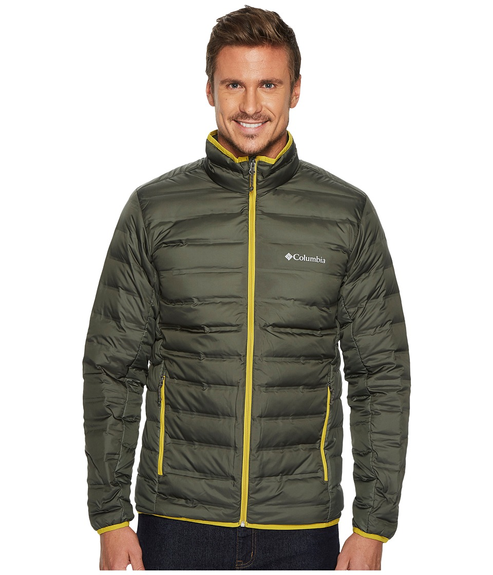 Columbia Lake 22 Down Jacket (Gravel/Antique Moss) Men