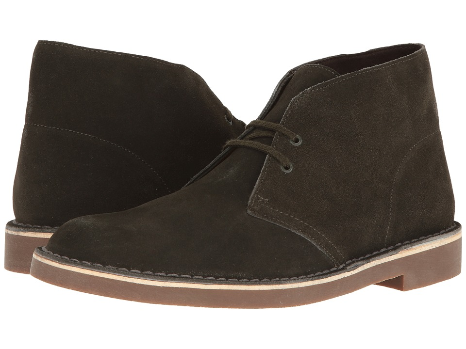 Clarks - Bushacre II (Loden Green) Men's Shoes