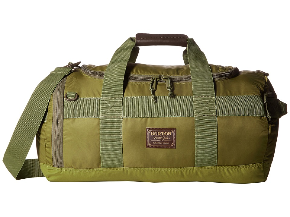 Burton - Backhill Duffel Bag Small 40L (Drab Flight Satin) Duffel Bags