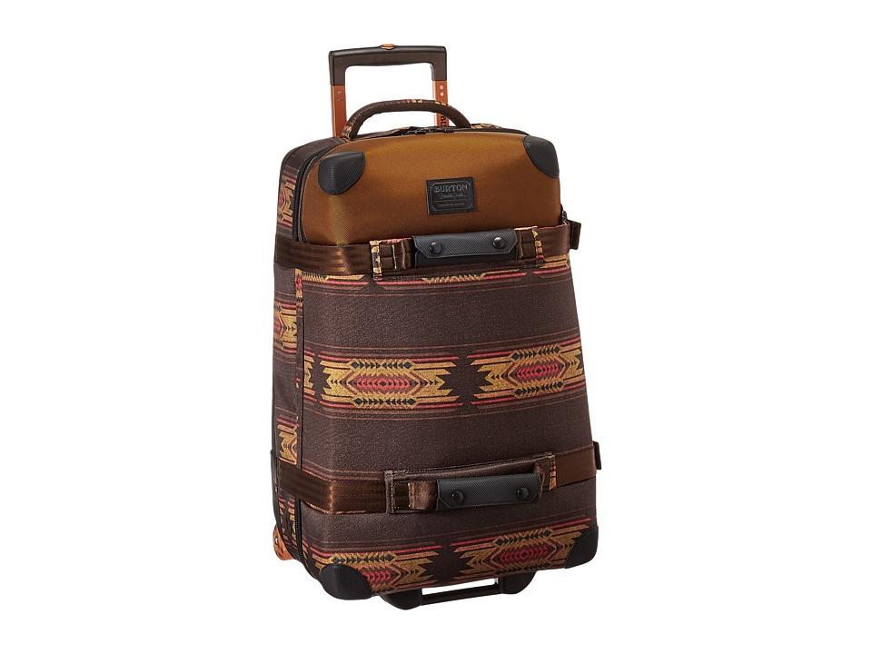 Burton - Wheelie Cargo Suitcase (Sierra Print) Luggage