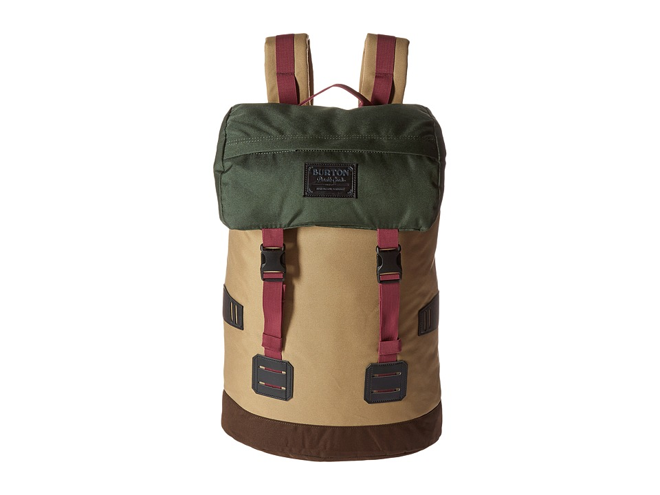 Burton - Tinder Pack (Khaki/Forest) Backpack Bags
