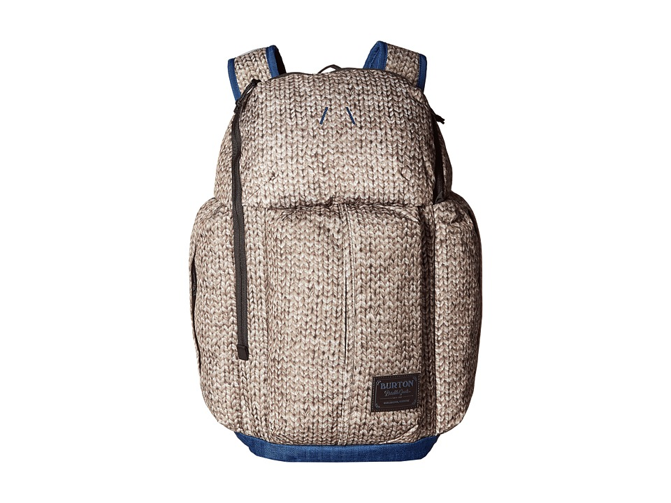 Burton - Cadet Pack (Knit Print) Backpack Bags